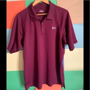 Under Armour Polo Shirt size L
